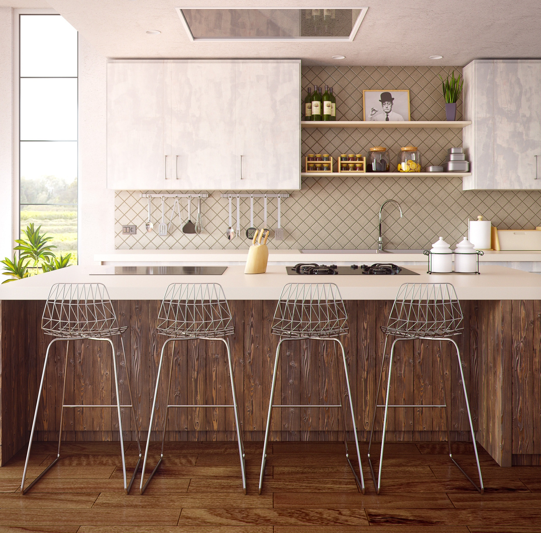 Fuldend dit køkkens look med den rette bordplade.